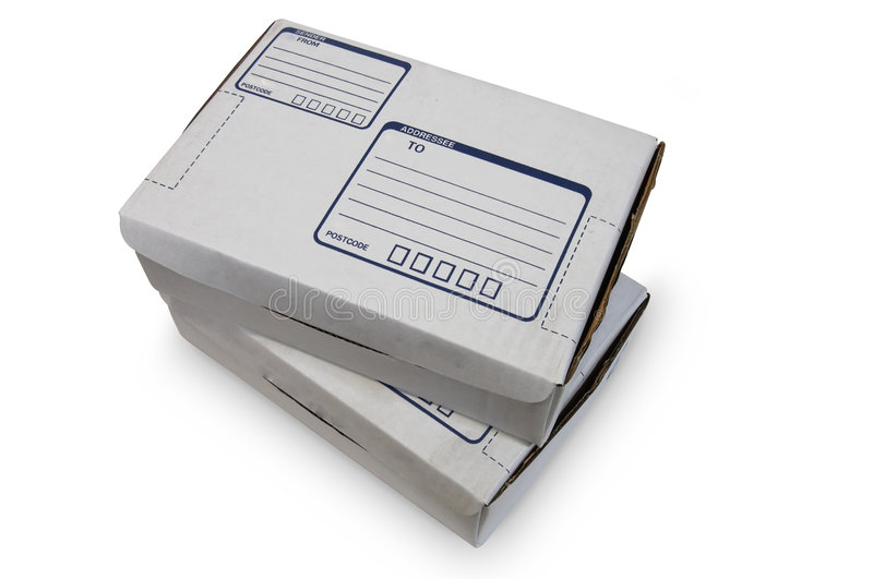 Cardboard Boxes - #2 stock photos