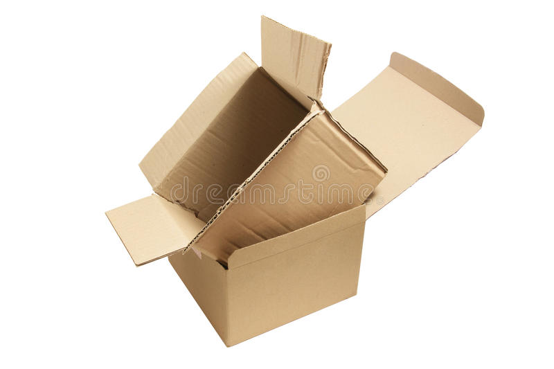 Download Cardboard Boxes stock image. Image of isolated, white - 20062397