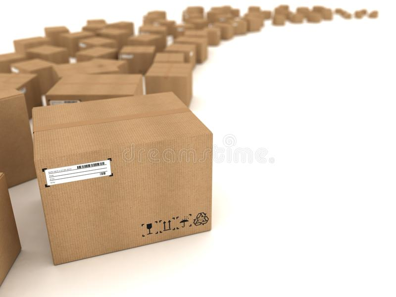 Download Cardboard Boxes Royalty Free Stock Image - Image: 21904686