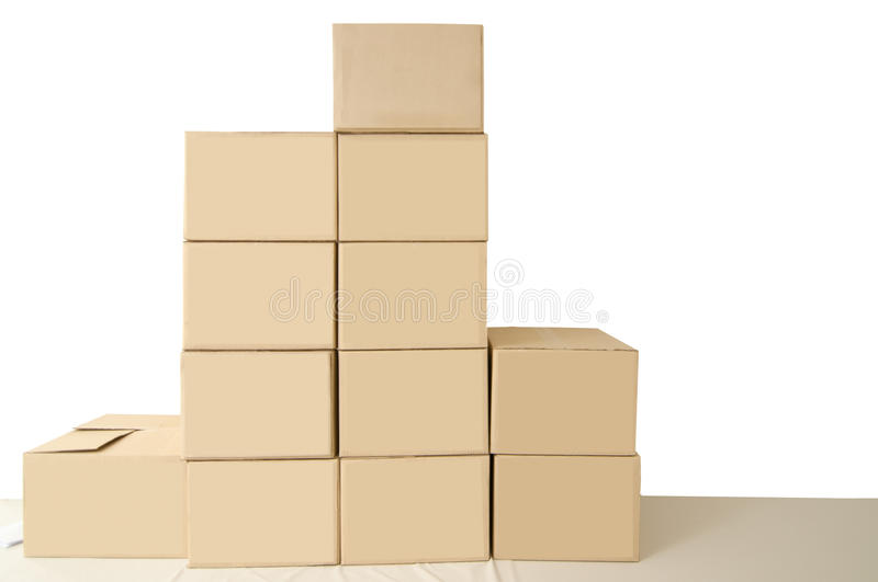 Download Cardboard Boxes Stock Images - Image: 24271894