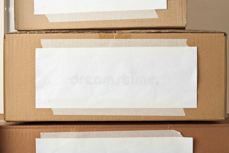 Download Cardboard boxes stock photo. Image of label, container - 26231350