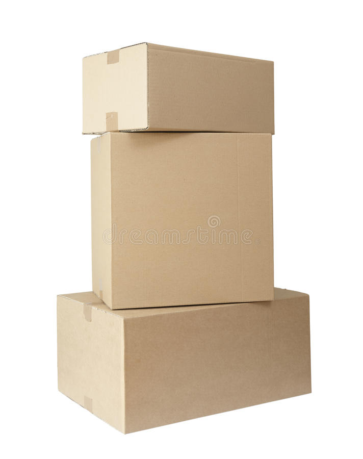 Download Cardboard Boxes Stack Package Stock Image - Image of heap, delivery: 10821229