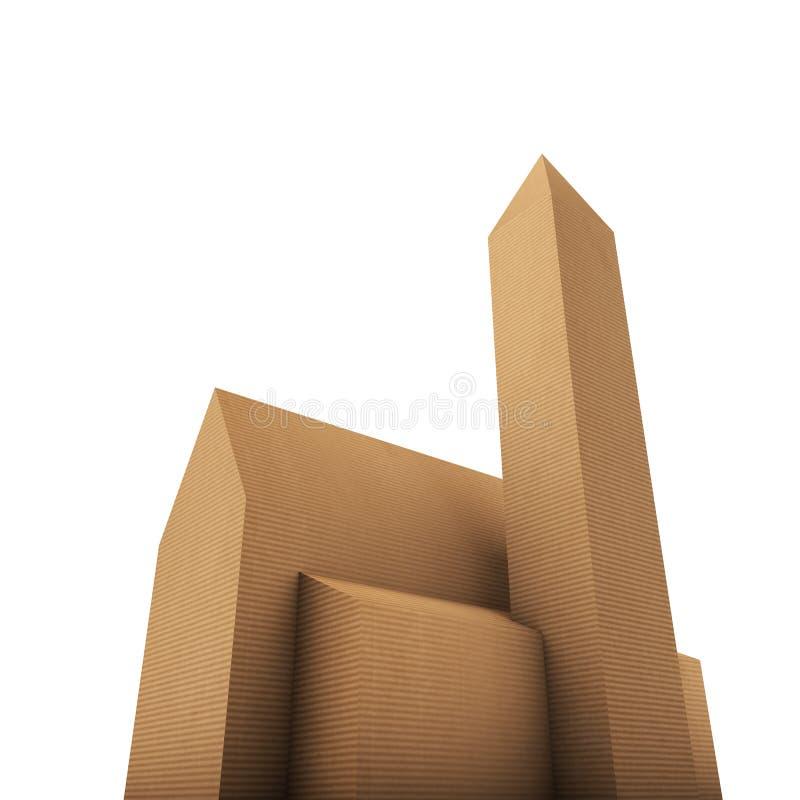 Download Cardboard church stock illustration. Illustration of protestant - 32145280