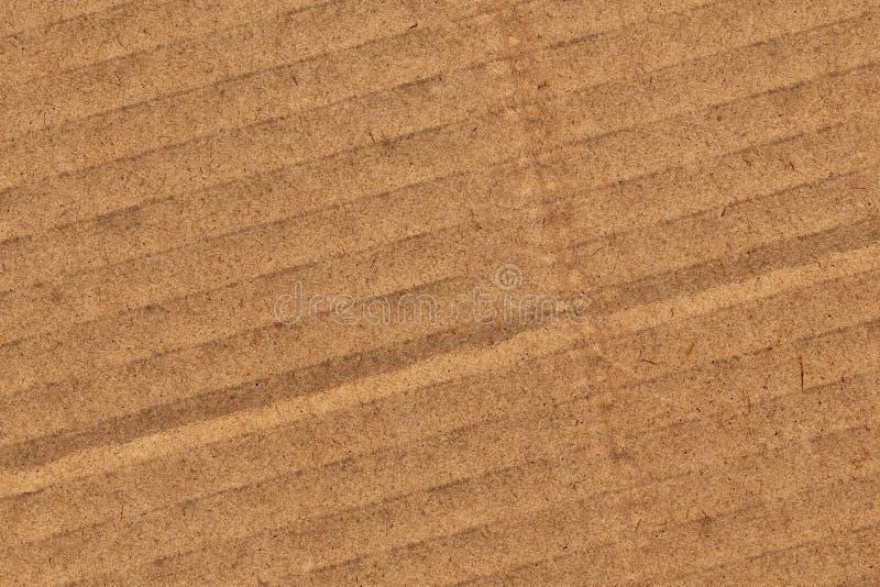 Cardboard Corrugated Grunge Texture royalty free stock image