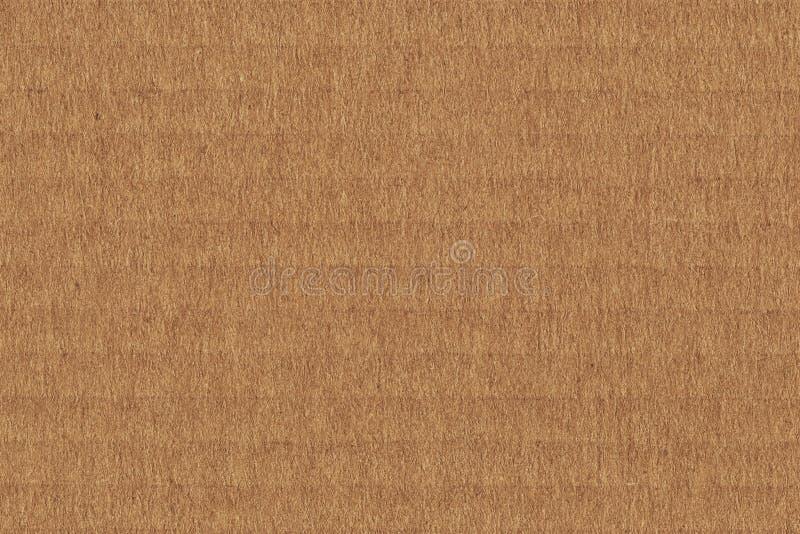 Cardboard Corrugated Grunge Texture stock image
