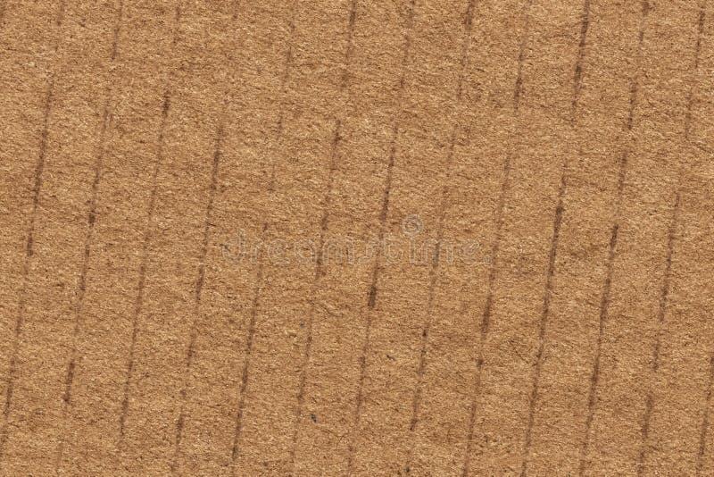 Cardboard Corrugated Grunge Texture Sample_ stock photo