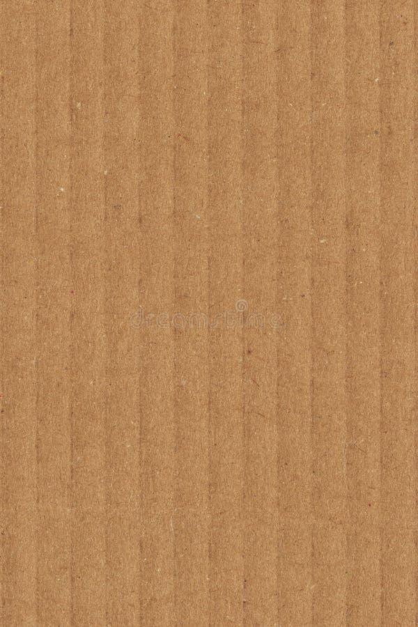 Cardboard Corrugated Grunge Texture Sample stock image
