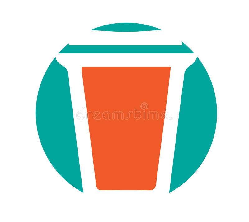 Download Cardboard Cup Icon Stock Illustration - Image: 83705738