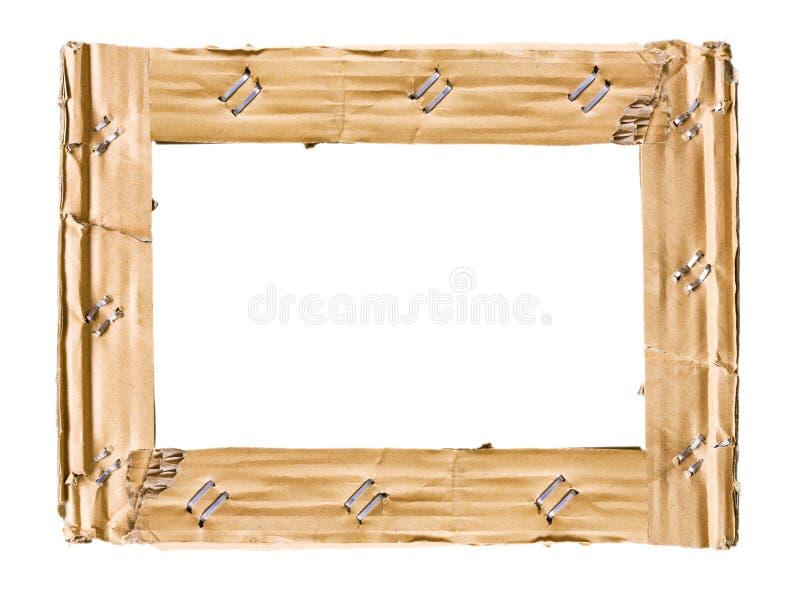 Cardboard frame stock photos