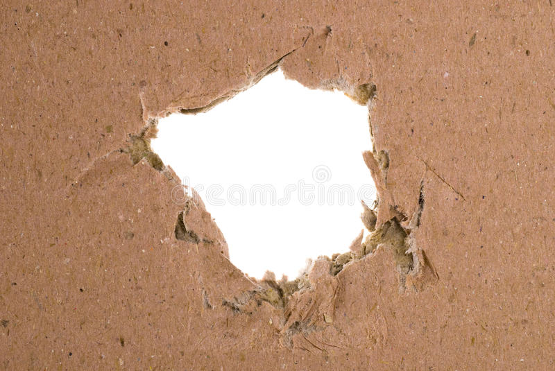 Download Cardboard Hole stock photo. Image of hole, brown, copy - 11592206