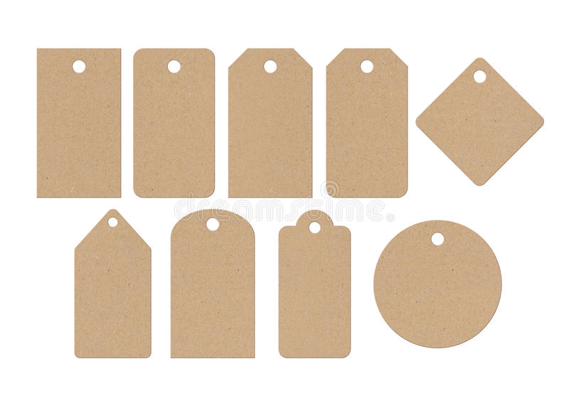 Download Cardboard labels stock image. Image of ecology, notice - 23401229