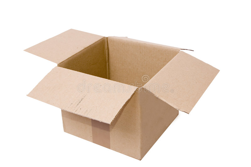 Cardboard Package stock photos