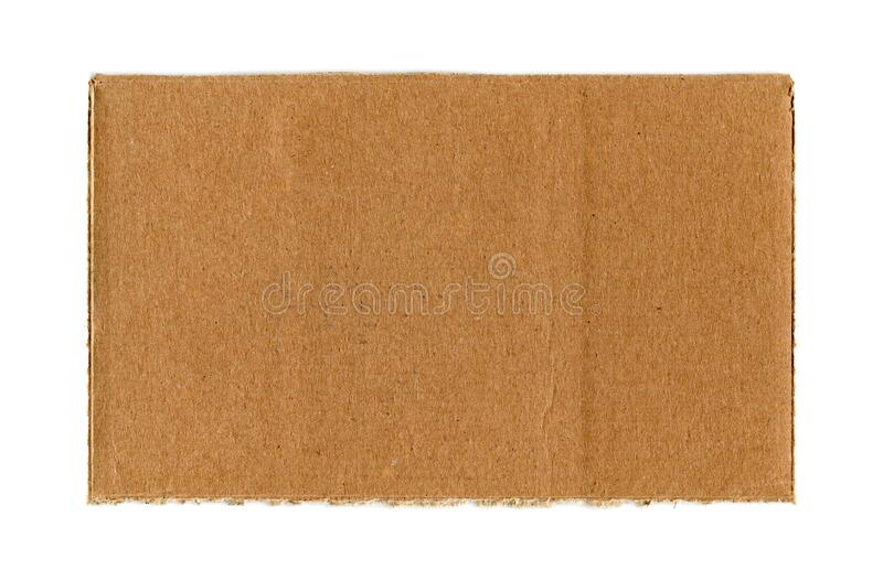 Cardboard paper texture background isolated royalty free stock photo