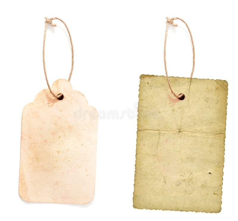 Cardboard price tag royalty free stock photos
