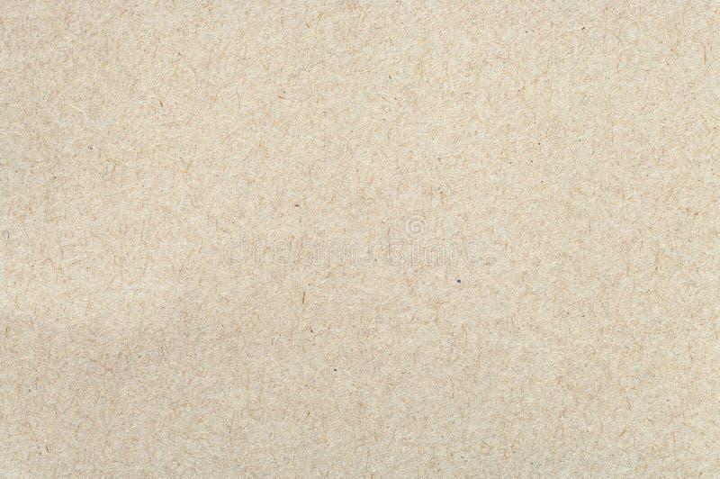 Cardboard sheet closeup. stock image