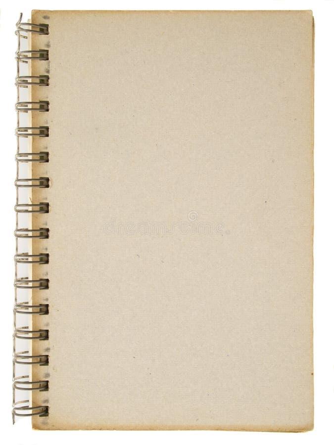 Cardboard Spiral Notebook Stock Photos