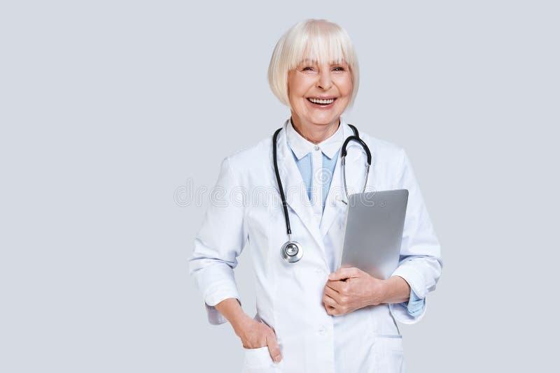 Cardiólogo confiable fotos de archivo