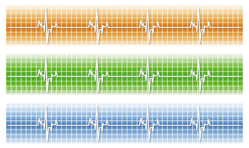 Download Cardiac stock vector. Illustration of oscilloscope, design - 9056687