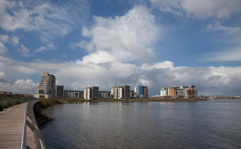 Download Cardiff Bay stock photo. Image of wales, stormy, roald - 24553224