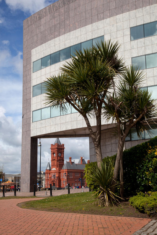Download Cardiff Bay stock photo. Image of cardiff, waterfront - 24898396