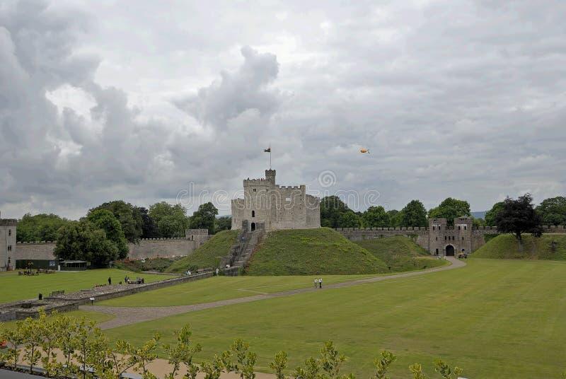 Cardiff Castle Royalty Free Stock Photos