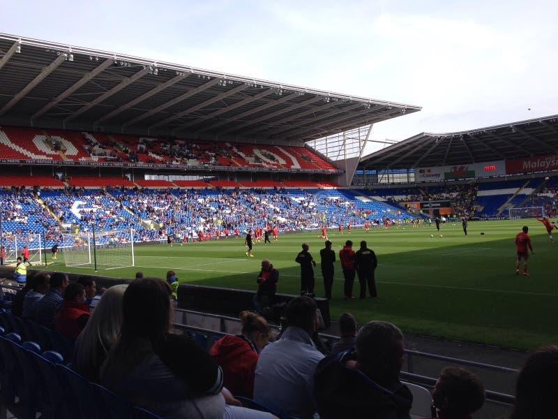 Cardiff miasta stadium obrazy royalty free
