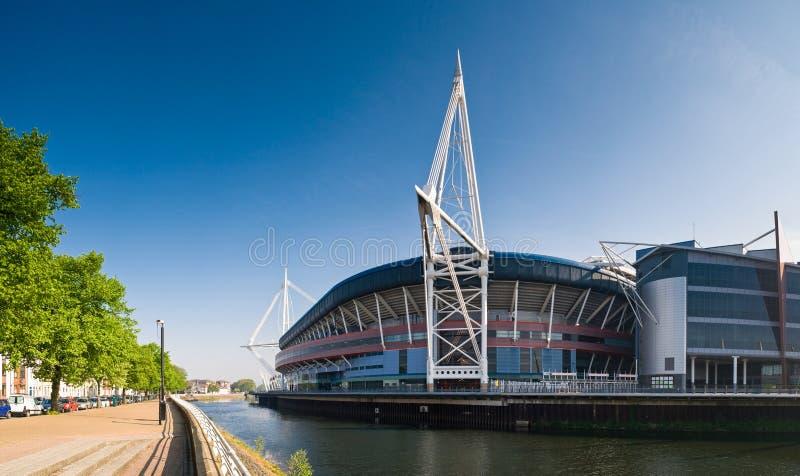 Cardiff widoki fotografia stock