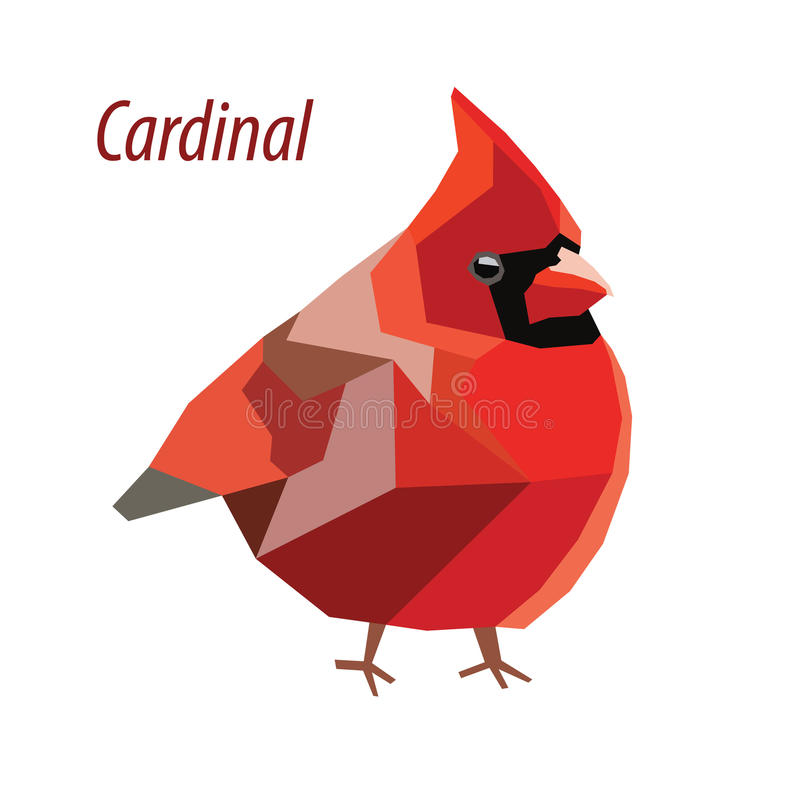cardinal libre illustration