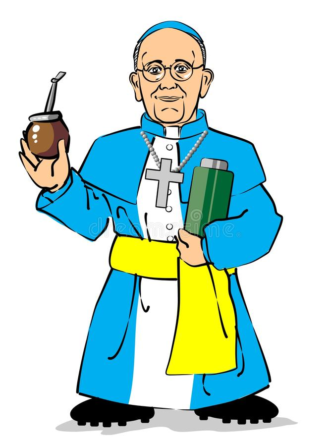 Download Pope Francis I Drinking A Mate Editorial Stock Image - Image: 29783244