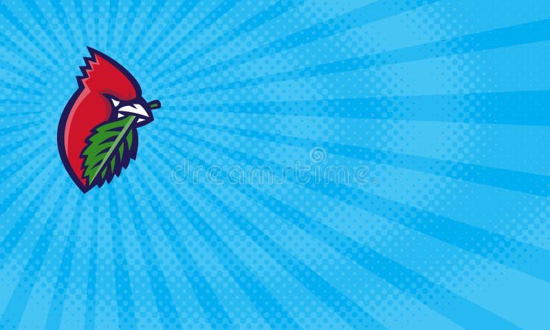 Cardinal Lawns Business card vector illustration