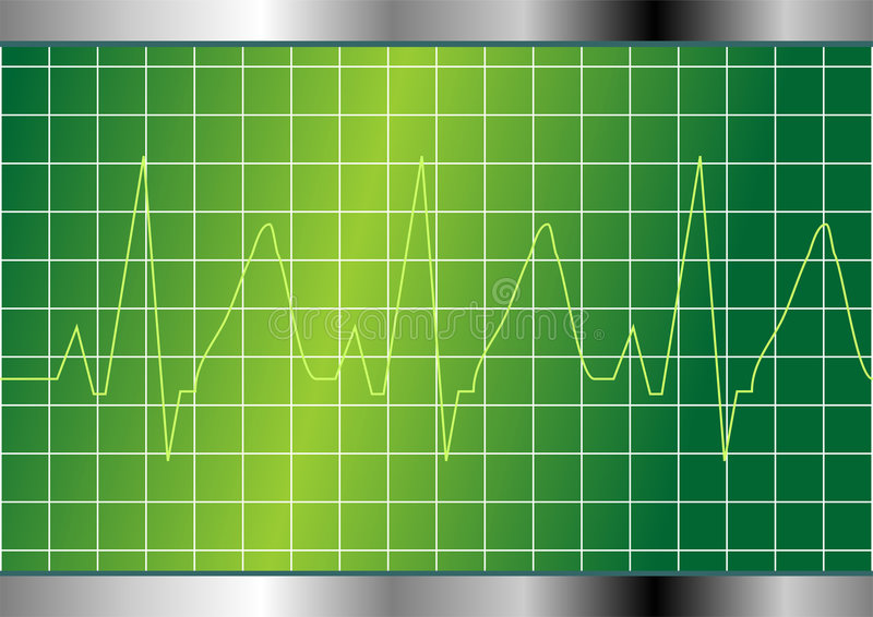 Download Cardio beat stock vector. Image of life, rate, heartbeat - 4453116