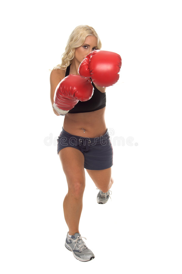 Download Cardio Boxing Left Jab stock photo. Image of sports, fighter - 2384416