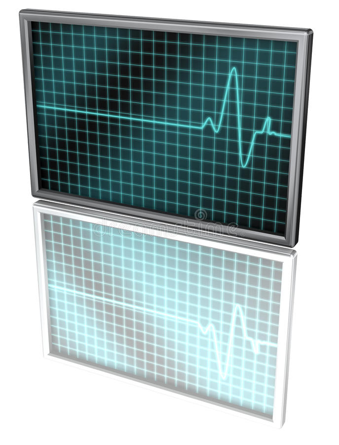 Download Cardio Display Royalty Free Stock Photography - Image: 15010397
