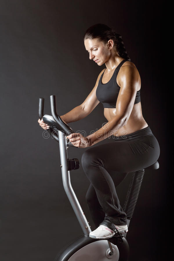 Download Cardio workout stock photo. Image of machine, energy - 26511858