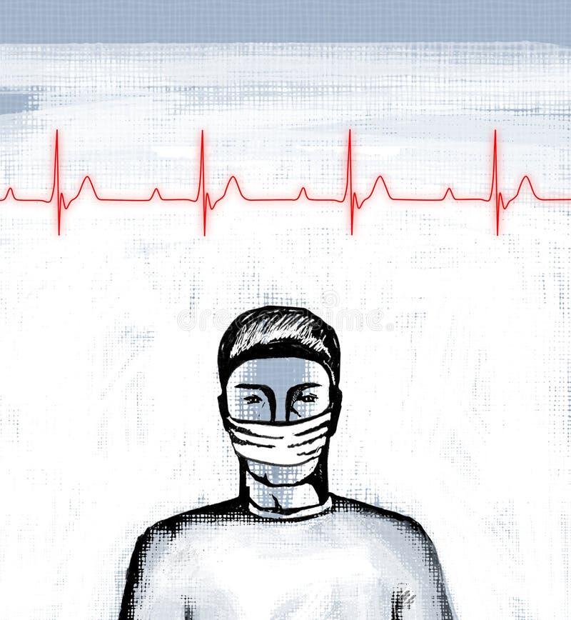 Download Cardiogram stock illustration. Illustration of colds - 11646929