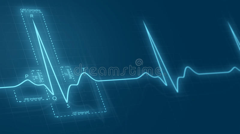 Cardiogram stock illustration