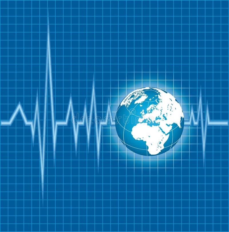 Download Cardiogram stock vector. Illustration of cardiac, medical - 23110979