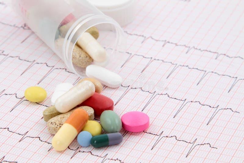 cardiogram images stock