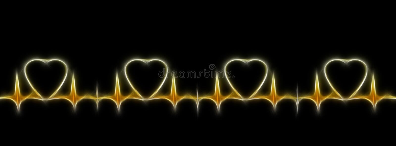 cardiogram стоковые фотографии rf