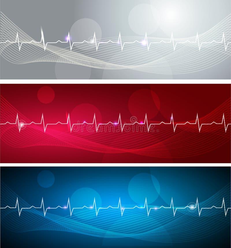 Cardiograma ilustração stock