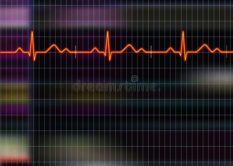 Cardiogramabbildung vektor abbildung