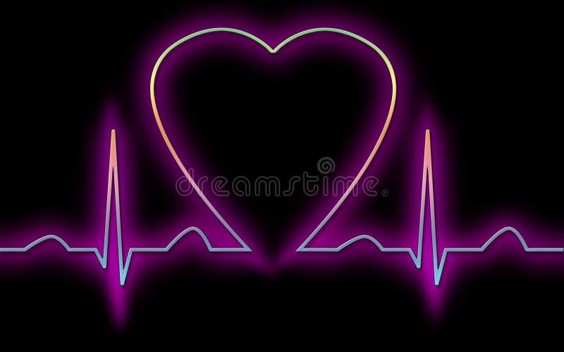 Cardiogramme illustration de vecteur