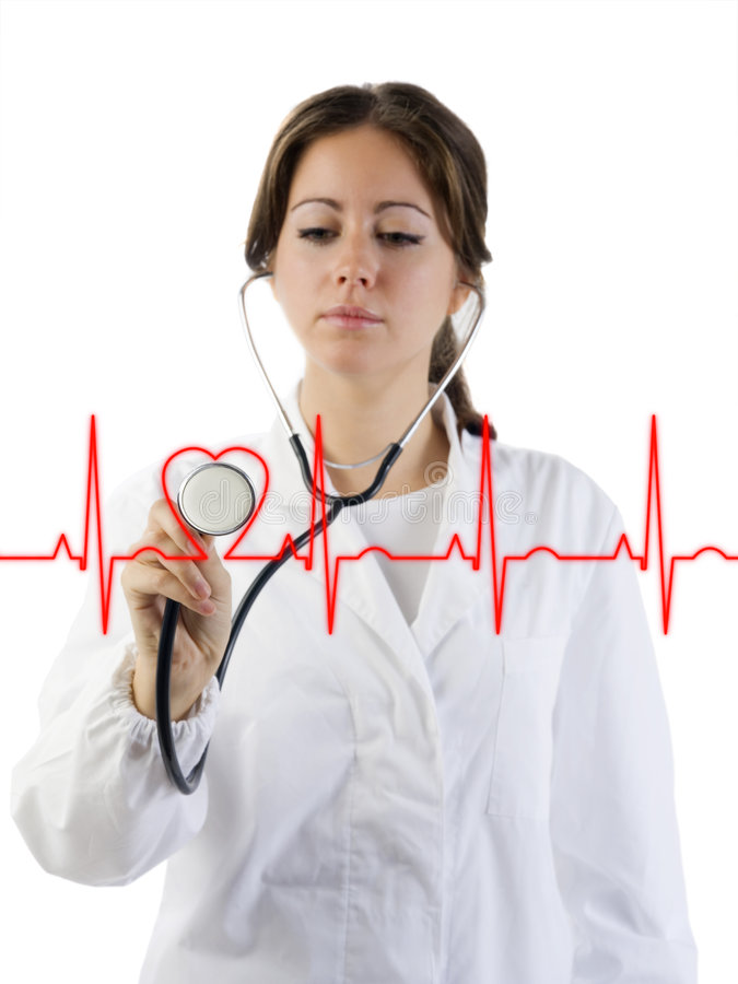 Cardiogramme photo libre de droits