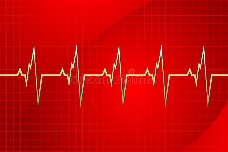 Cardiologia illustrazione vettoriale