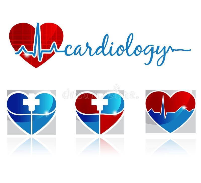 Cardiologia illustrazione di stock