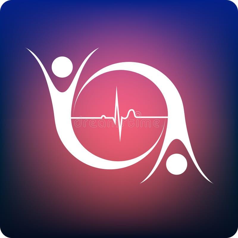 Cardiologia ilustração royalty free