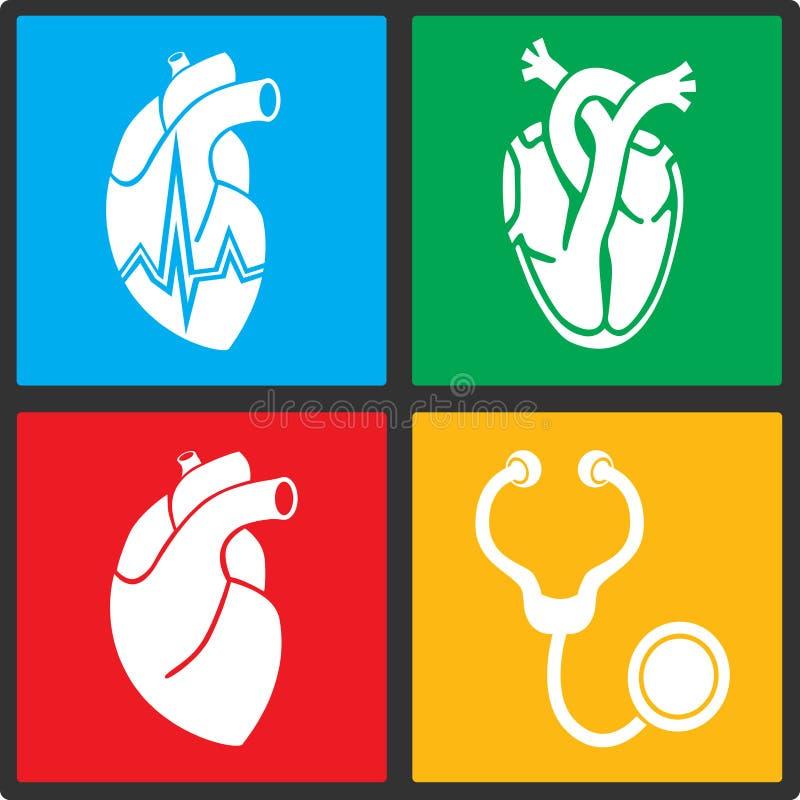 cardiology ilustração royalty free
