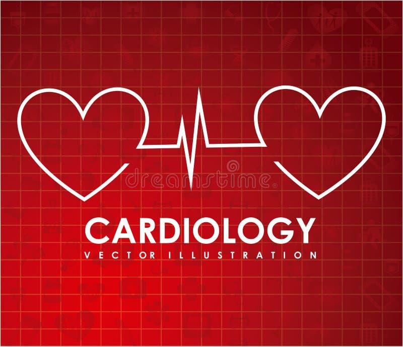 cardiology stock illustrationer