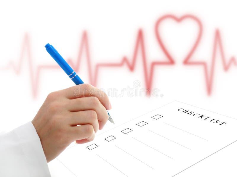 Cardioloog. royalty-vrije stock foto's
