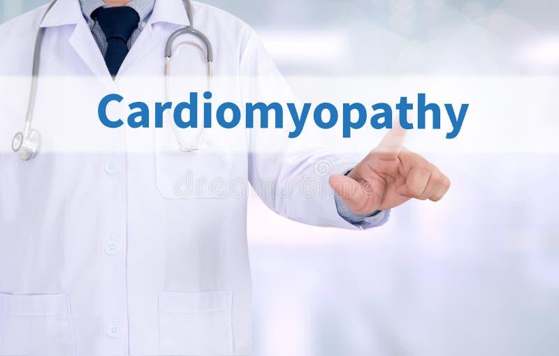 Cardiomyopathy arkivfoton